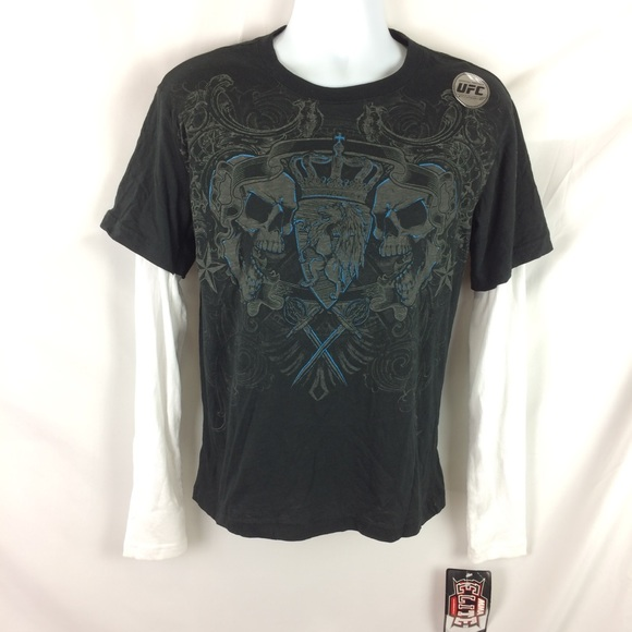 33ddc664 MMA Elite Shirts | Layered Long Sleeve Tee M | Poshmark
